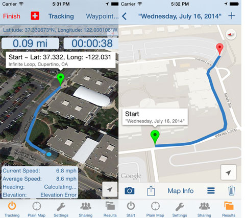 Trail Tracker GPS