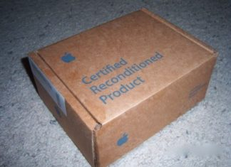 Caja de iPhone restaurado