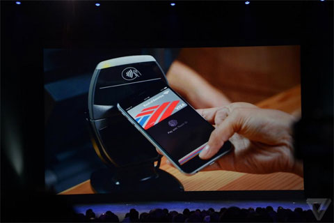 Apple Pay con el iPhone 6