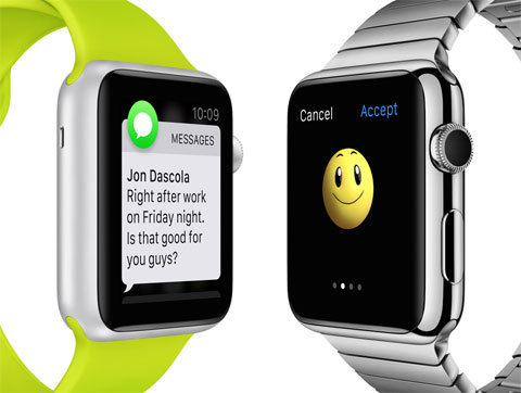 Apps del Apple Watch