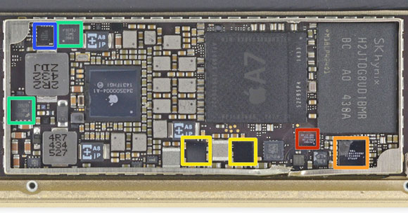Chip NFC del iPad mini 3