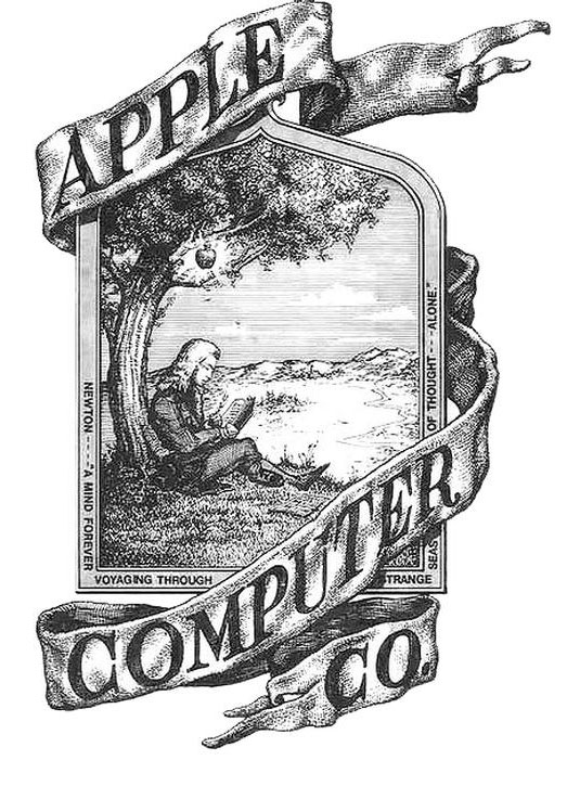 Antiguo logo de Apple
