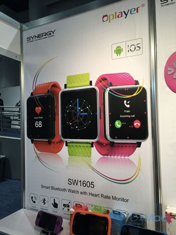 Clones del Apple Watch en el CES 2015