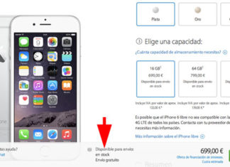iPhone 6 disponible sin esperas