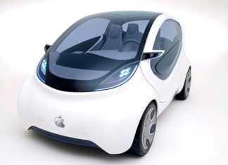 Concepto de diseño de Apple Car