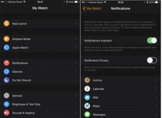 App del Apple Watch