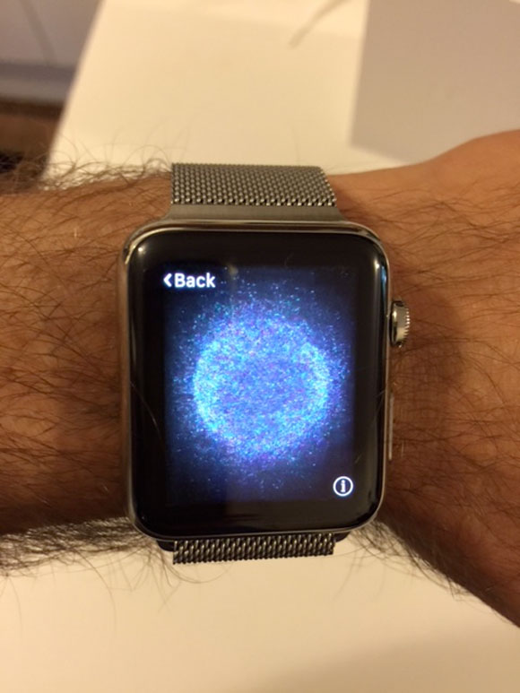 Animación en el Apple Watch