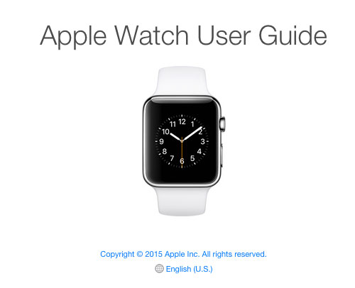 Guía del usuario del Apple Watch