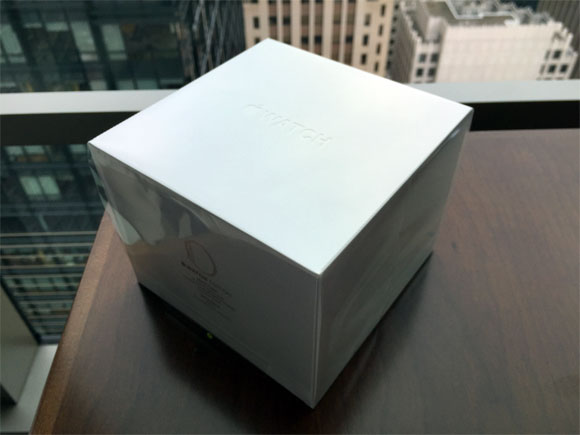 Caja del Apple Watch Edition