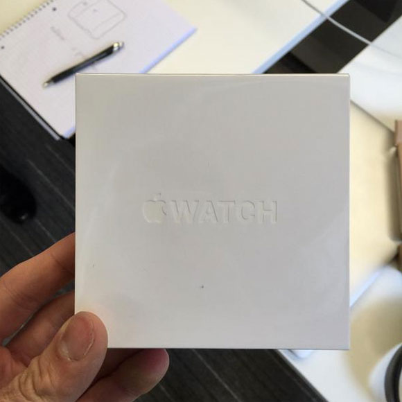Caja de reemplazo del Apple Watch