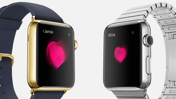 Corazones en el Apple Watch