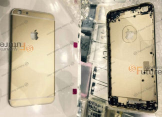 Supuesta carcasa del iPhone 6S Plus