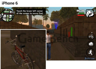 Comparación de GTA entre el iPhone 6 y el Galaxy S6