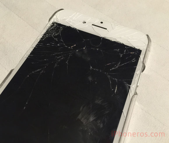 iPhone 6 con la pantalla rota