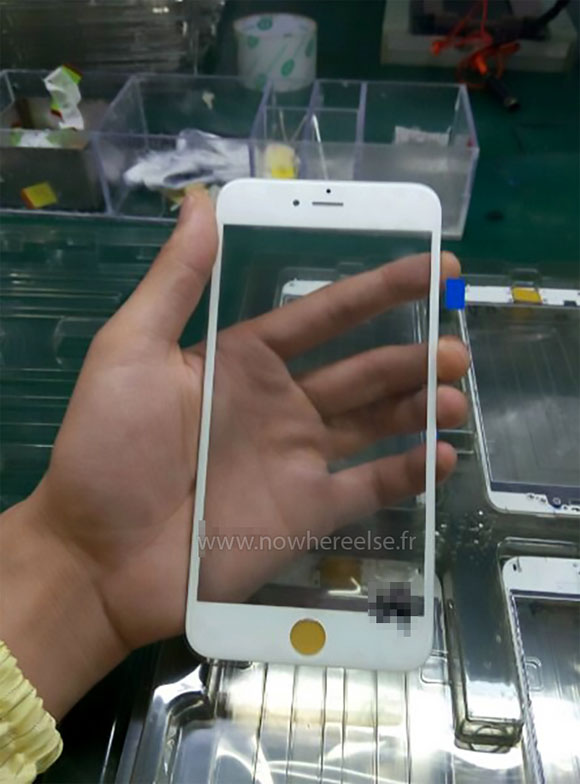 Supuesto cristal frontal iPhone 6S
