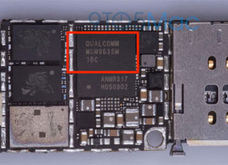 Chip del módem Qualcomm en el supuesto iPhone 6S