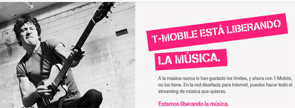 T-Mobile no te cobra por los datos de Apple Music