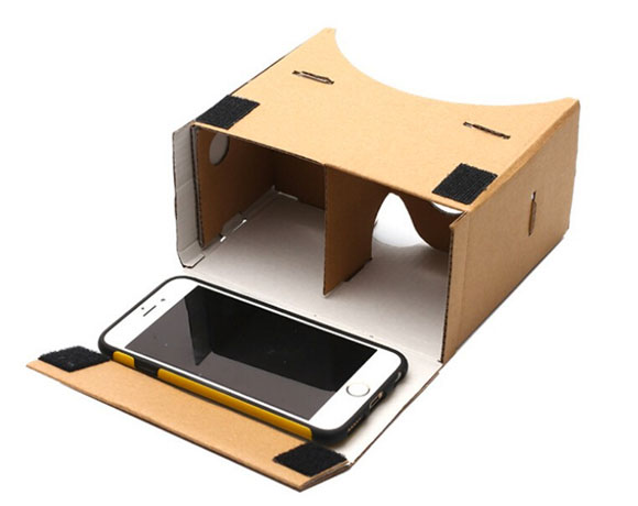 Google Cardboard con un iPhone