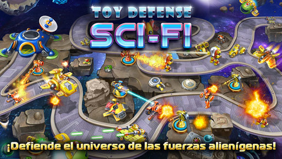Toy Defense 4: Sci-Fi – estrategia