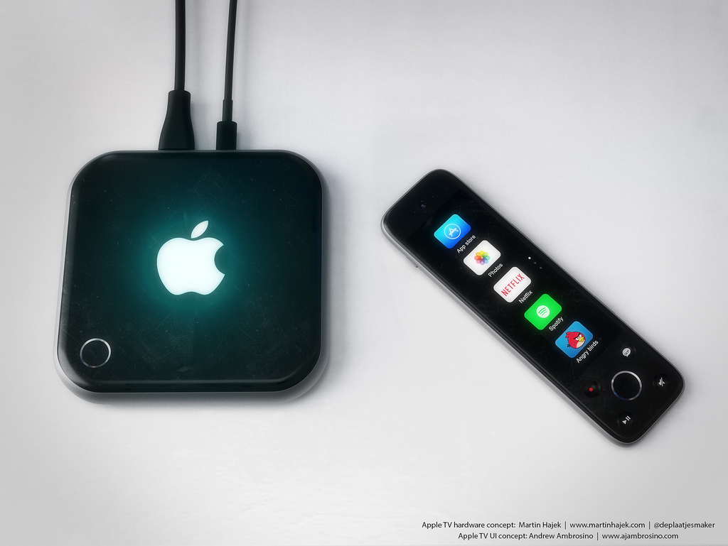 Concepto de diseño de Apple TV 4