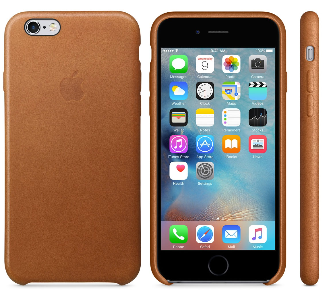 Funda Saddle Brown para iPhone 6S y 6