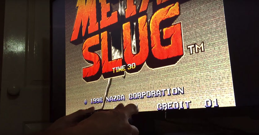 Metal Slug en el Apple TV