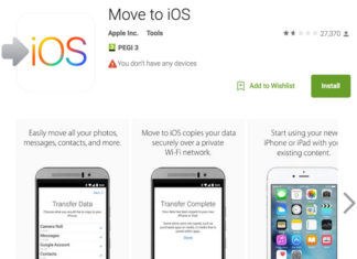 Move to iOS en Google Play