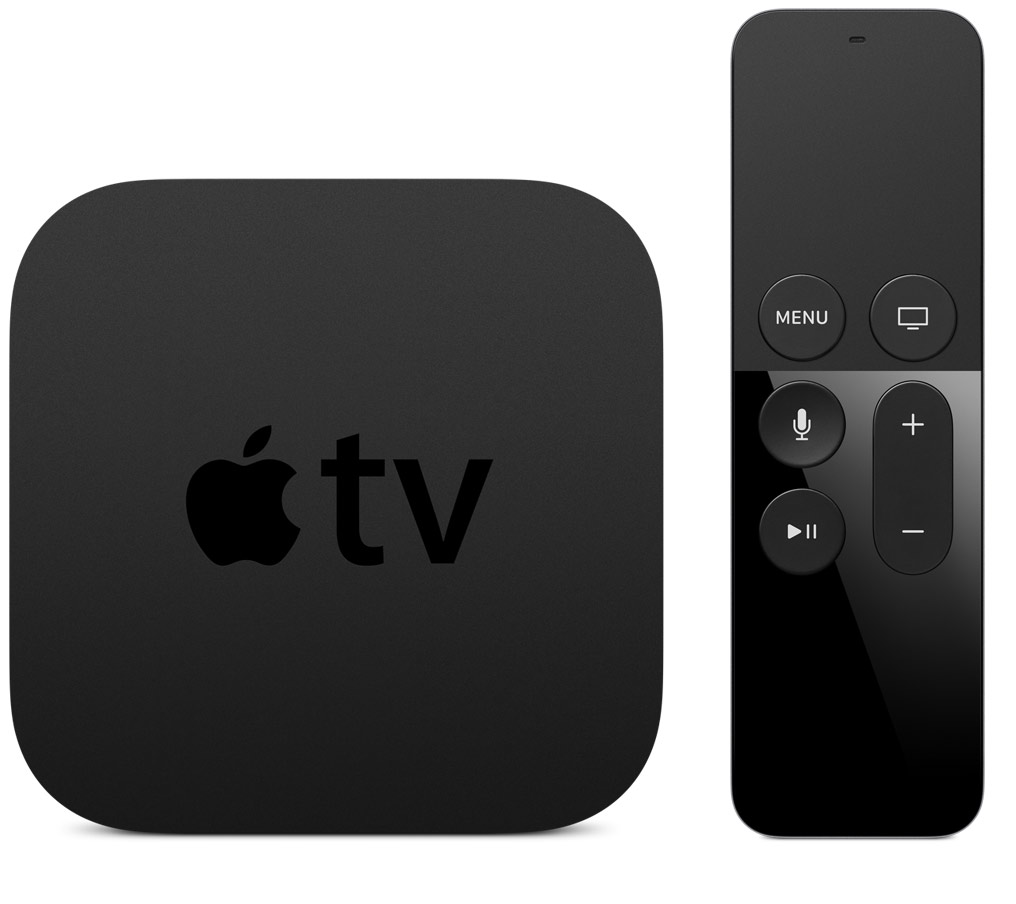 Apple TV 4 y su mando a distancia