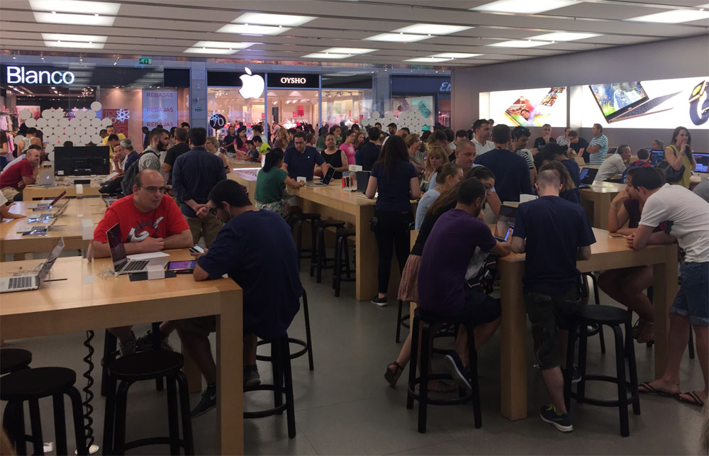 Apple Store de Parque Sur