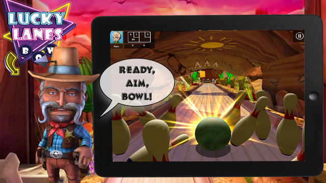 Lucky Lanes 3D Bowling