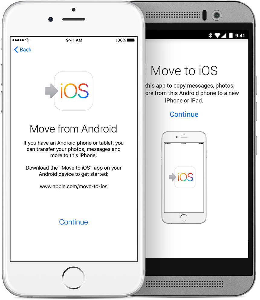App Move to iOS