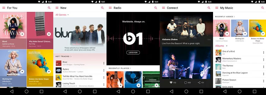 Apple Music en Google Play