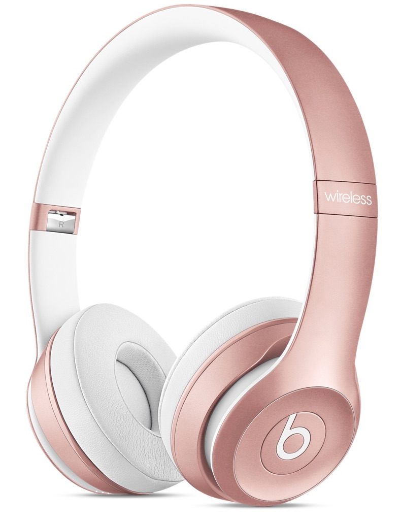 Beats de color oro rosado