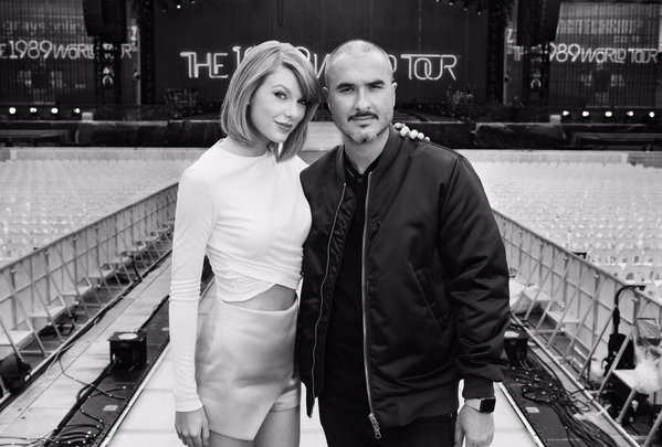 Taylor Swift y Zane Lowe