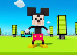 Mickey Mouse en Crossy Road