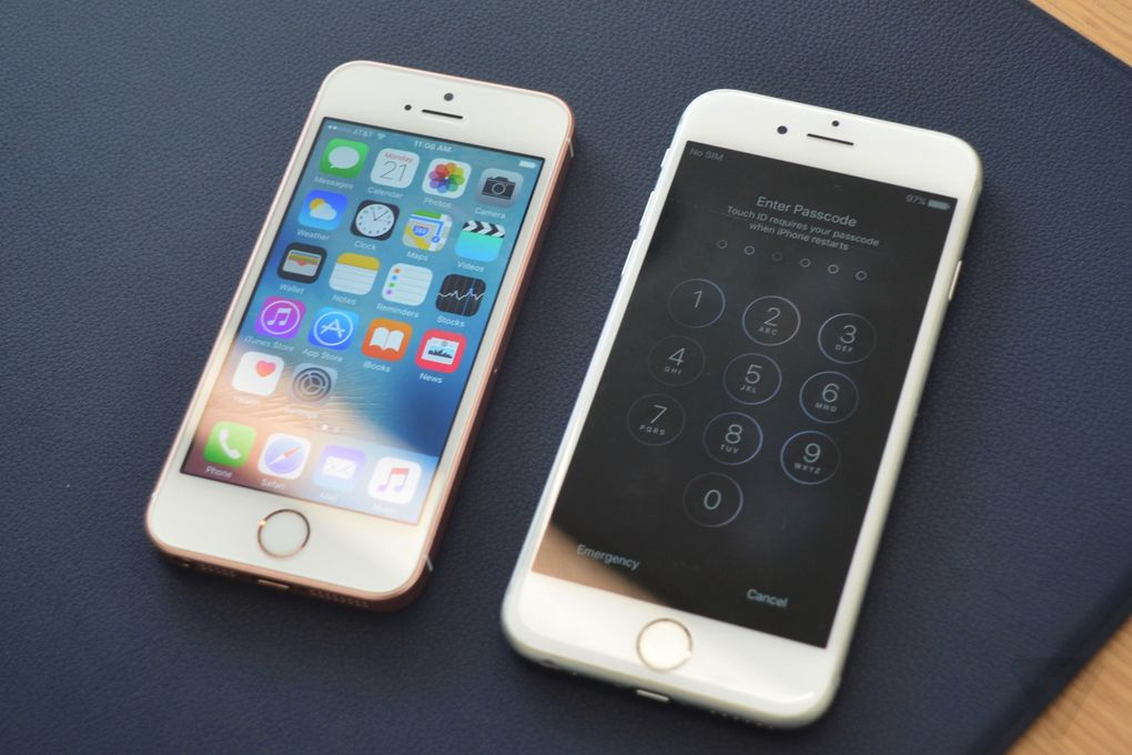 iPhone SE y iPhone 6S