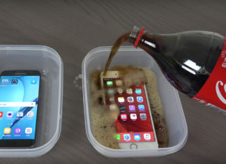 iPhone en Coca-Cola