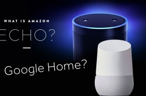 Amazon Echo y Google Home