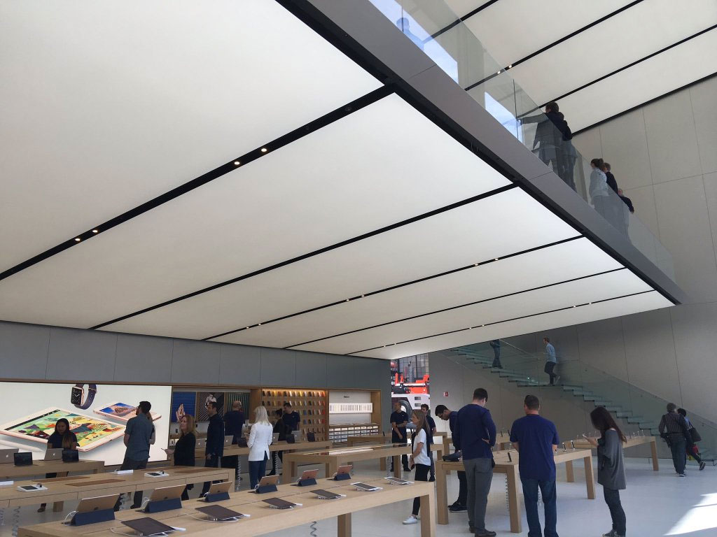 Arquitectura de la nueva Apple Store de Square Union en San Francisco