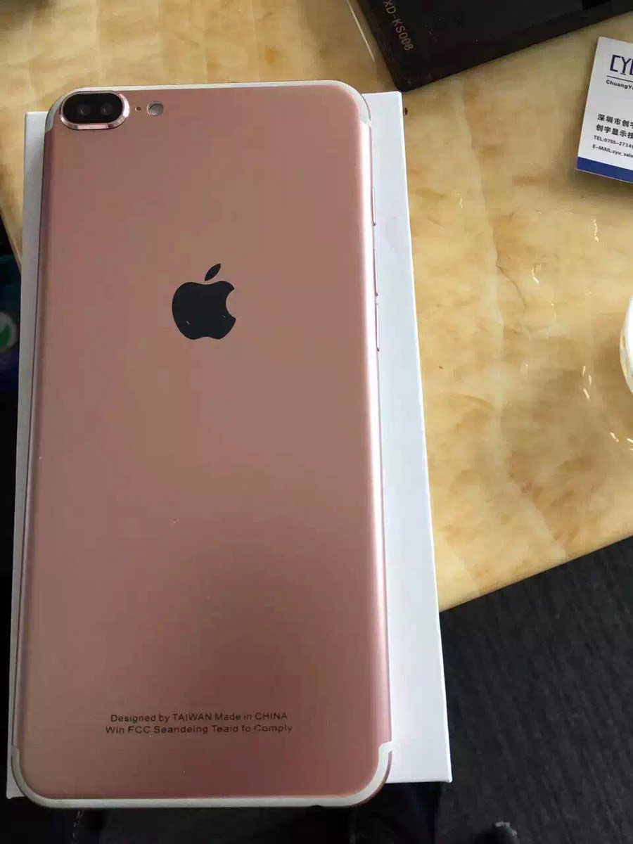iPhone 7 chino de coña
