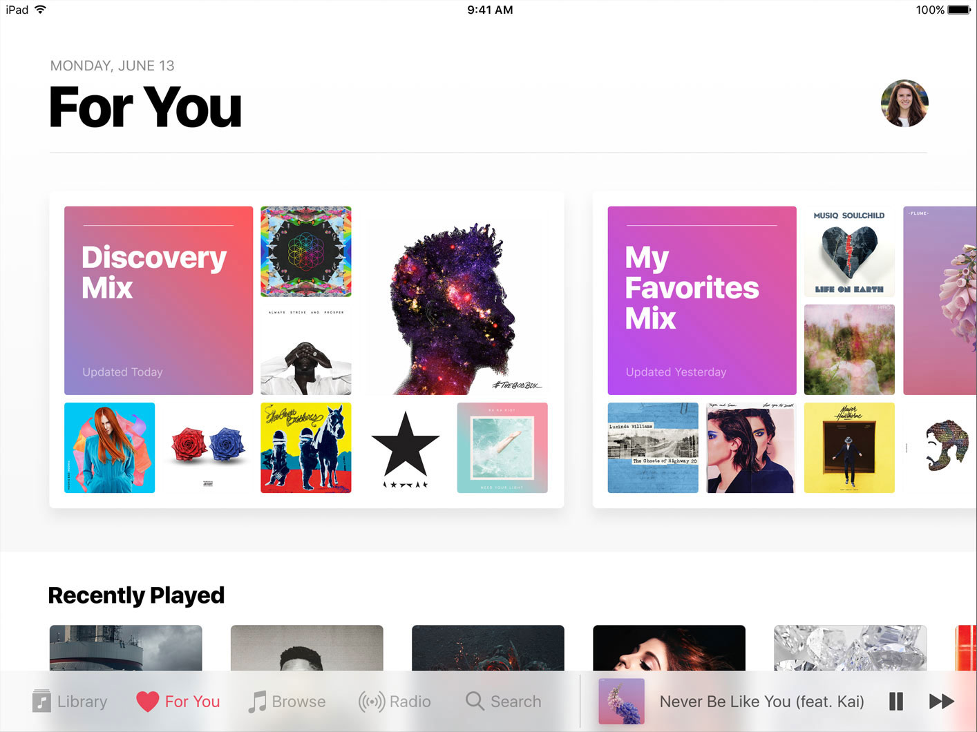 Nueva App de Apple Music