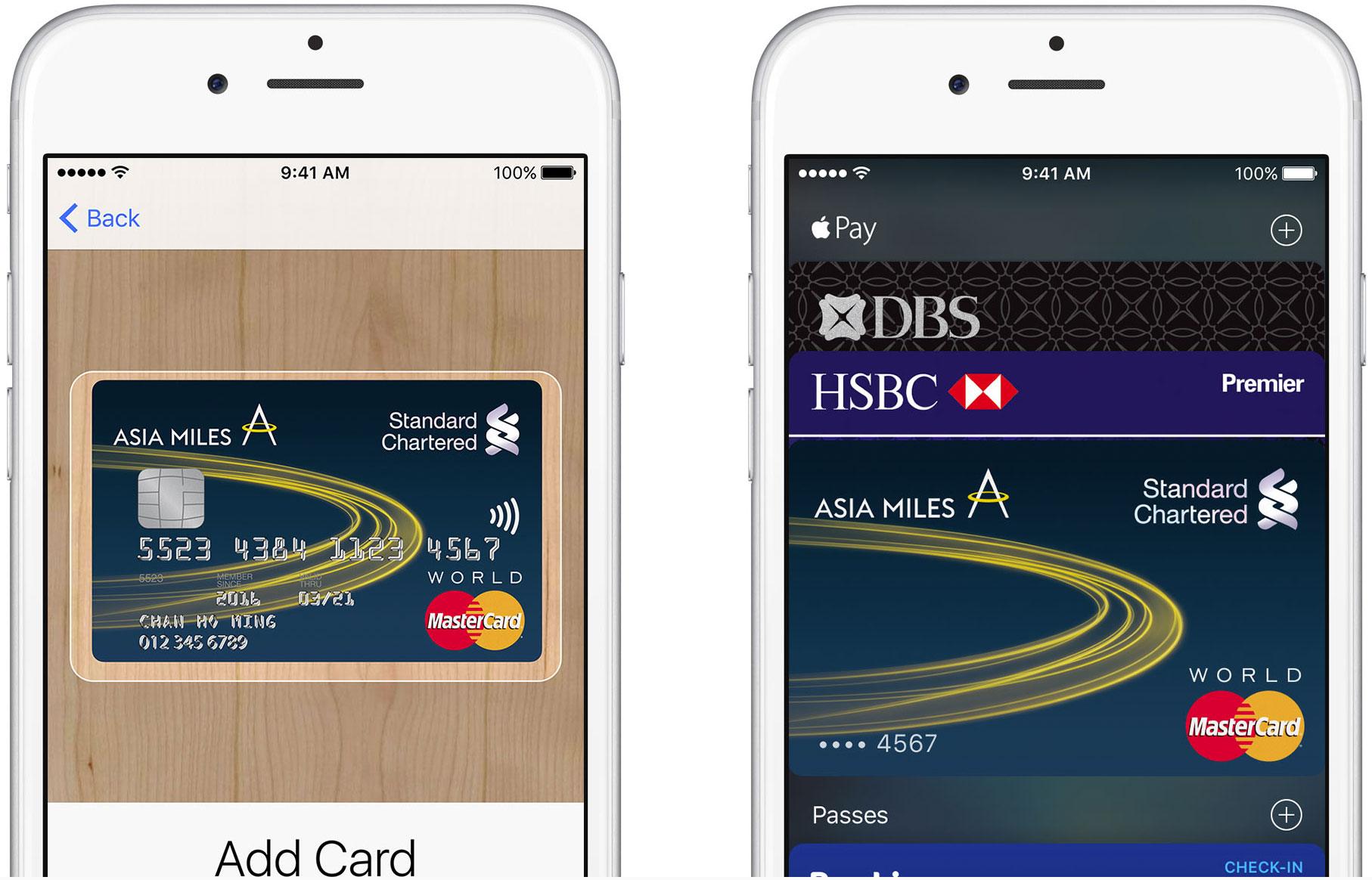 Apple Pay en Hong Kong