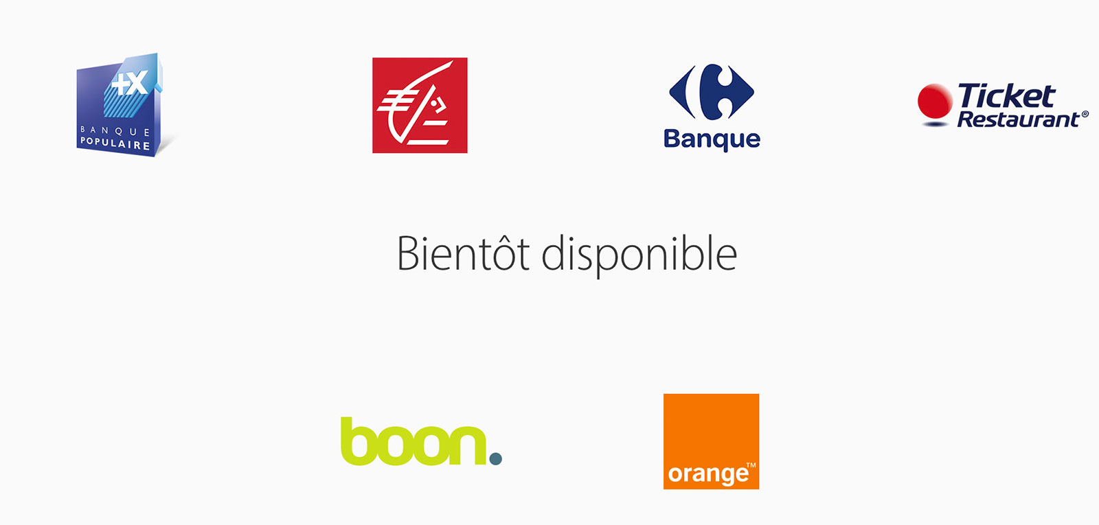 Bancos soportados por Apple Pay en Francia
