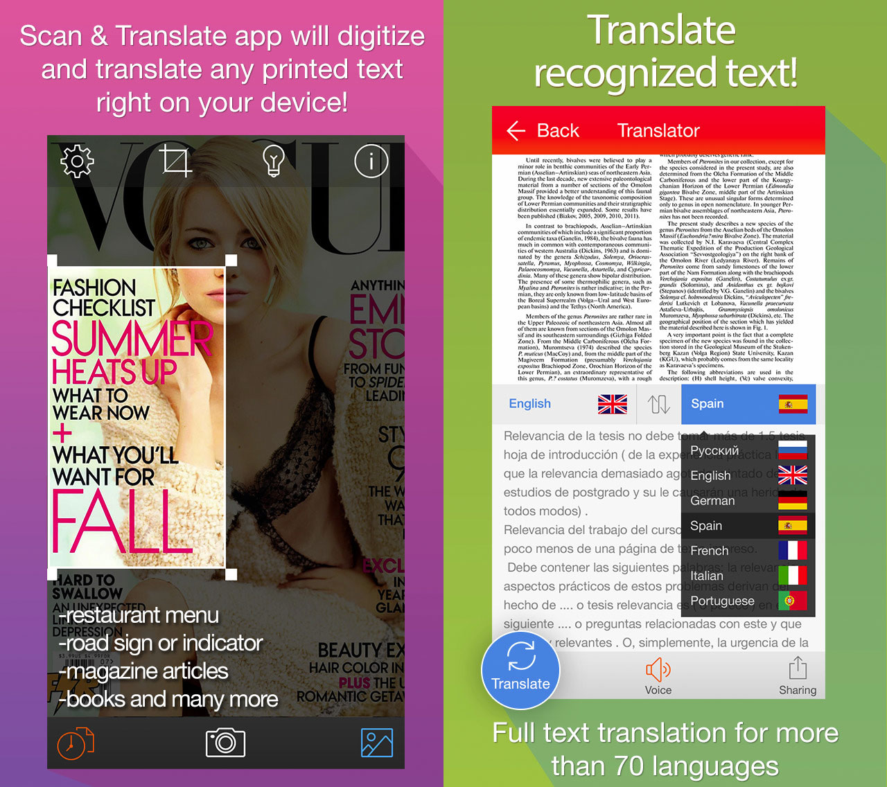 Scanner & Translator