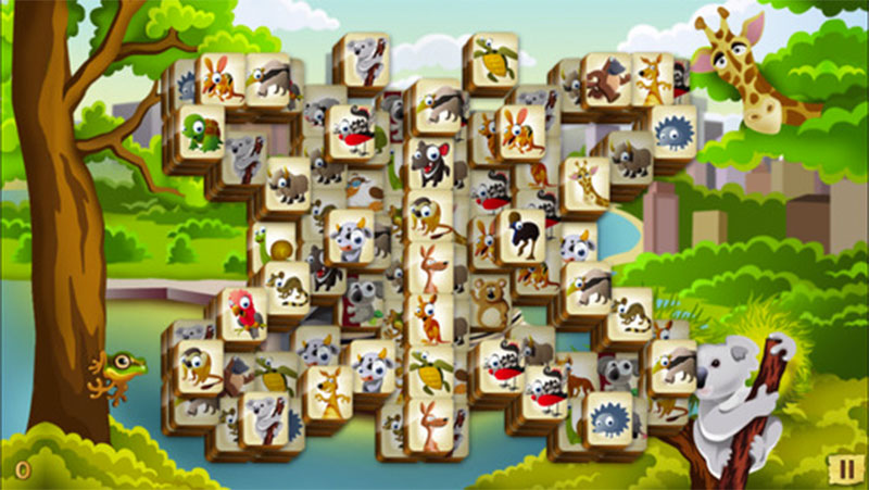 Mahjong Animals
