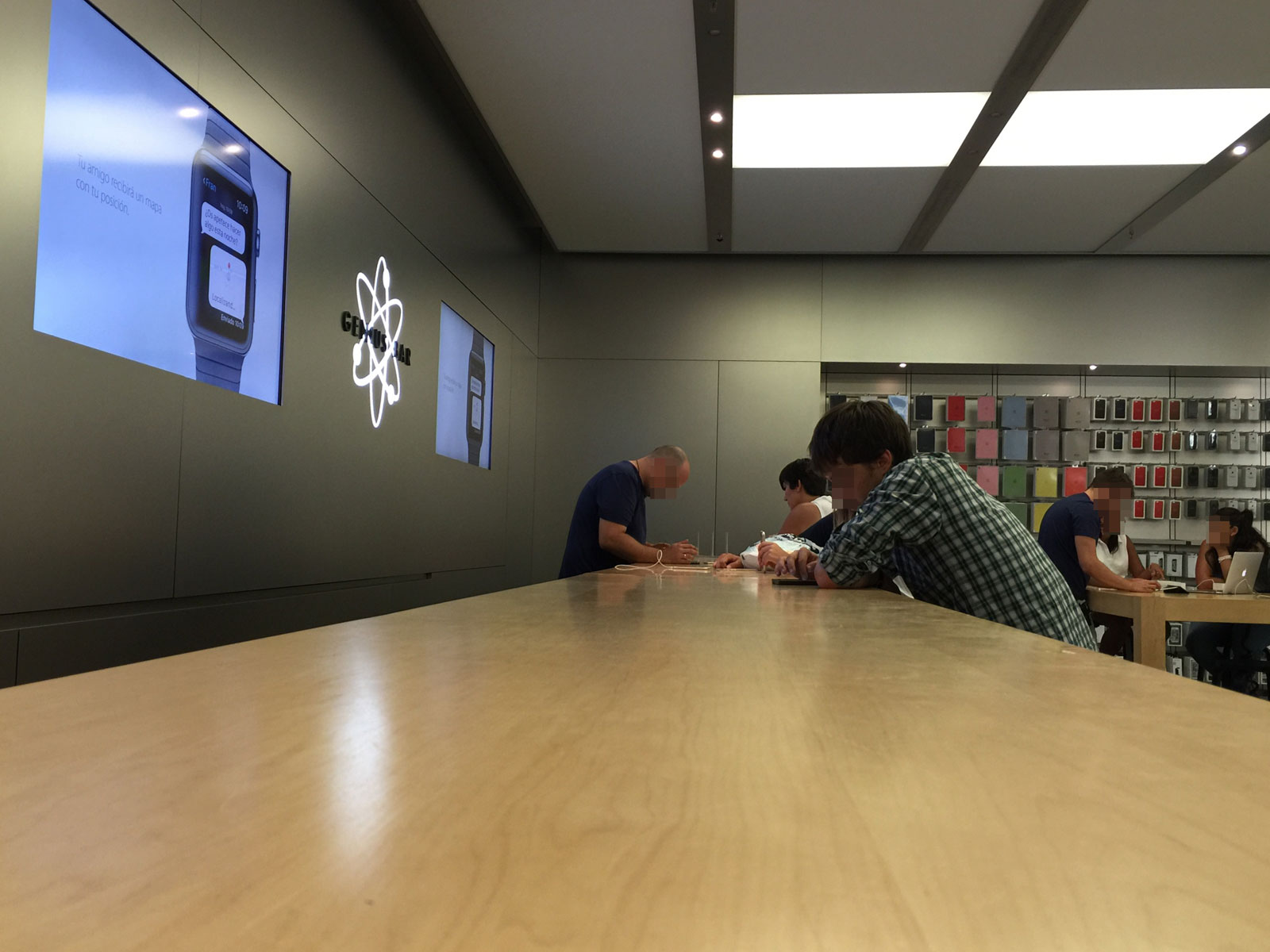 Genius Bar en una Apple Store