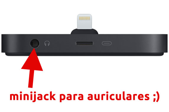 Base Dock Lightning para el iPhone – Negro