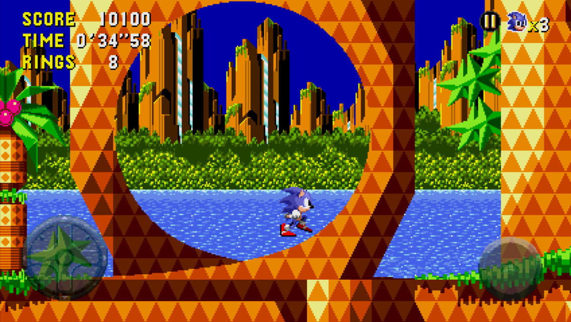 Sonic CD en el iPhone