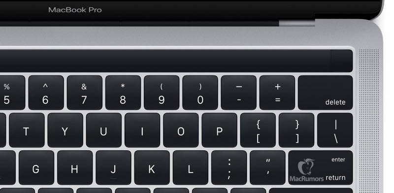 MacBook Pro con Magic Toolbar