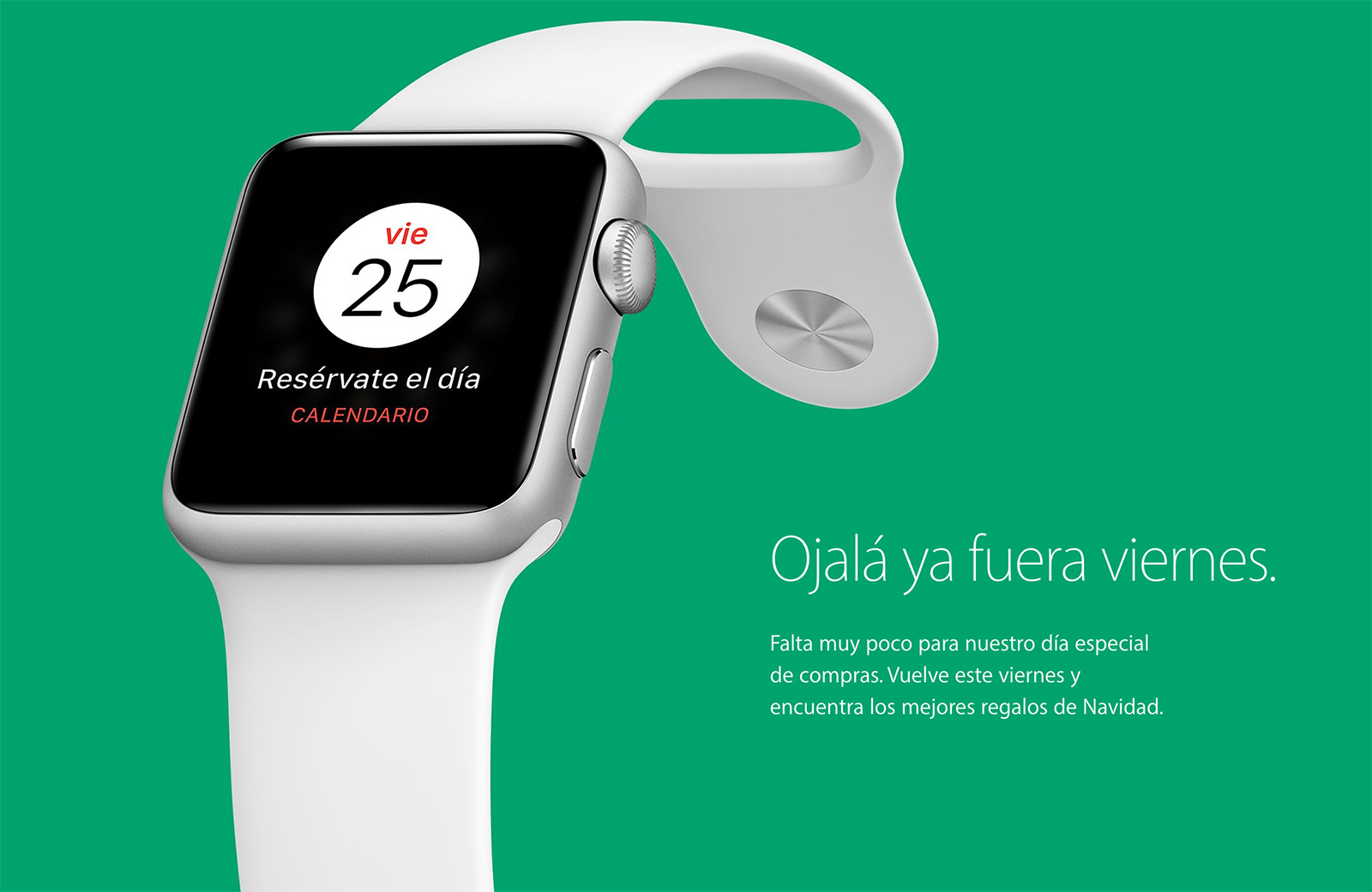 Teaser de Black Friday 2016 de Apple